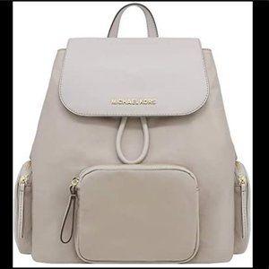 Michael Kors Abbey Cargo Large Backpack